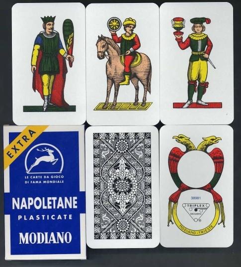 Kartenspiel Scopa