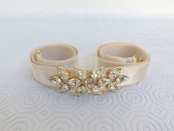 Hey, I found this really awesome Etsy listing at https://www.etsy.com/uk/listing/215375379/ivory-elastic-waist-belt-bridal-sparkly