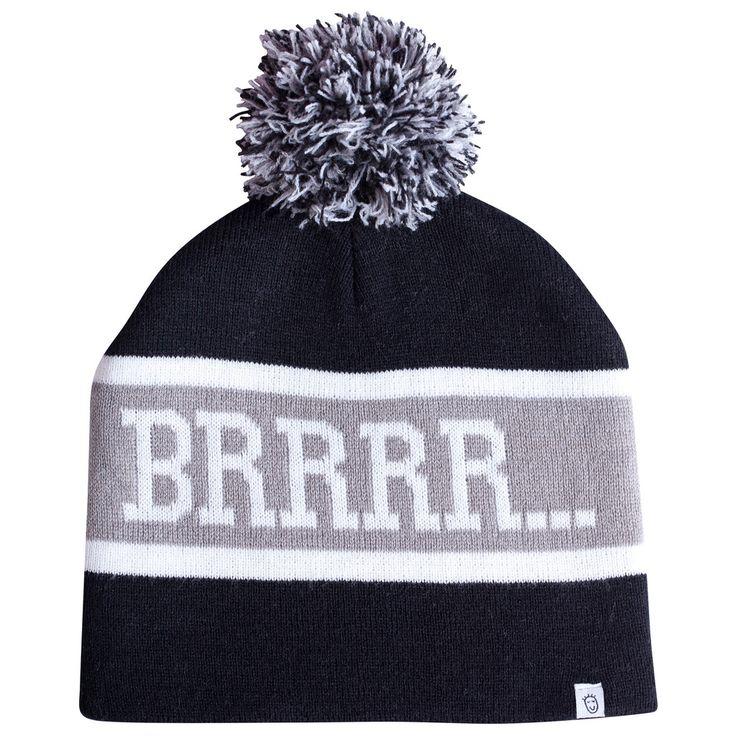 Kids winter fashion BRRRR Beanie