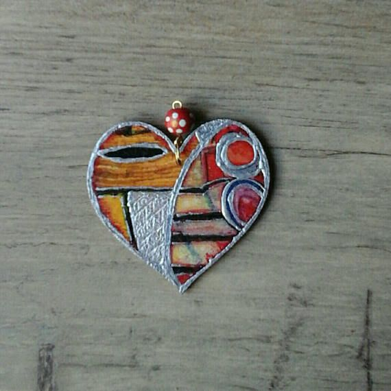 Check out this item in my Etsy shop https://www.etsy.com/listing/513425688/necklace-pendant-handmade-wooden-heart