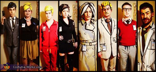 The Archer Cast - 2014 Halloween Costume Contest via @costume_works