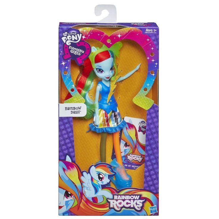 My Little Pony Equestria Girls Rainbow Rocks Raainbow Dash Doll!~ BNIB  A8832 #Hasbro