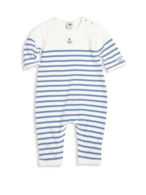 Petit Bateau - Baby's Striped Coverall