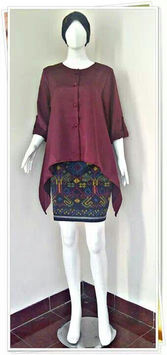 blouse and batik
