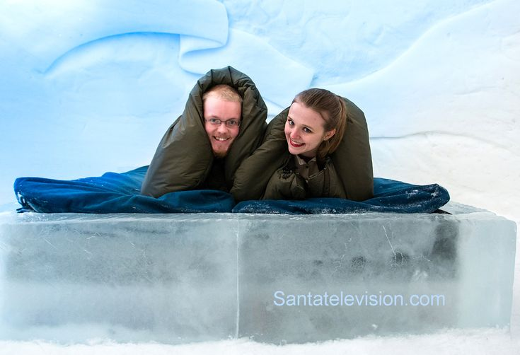 Hotel Igloo Snowman World Nel Villagio di Babbo Natale a Rovaniemi in Lapponia, Finlandia