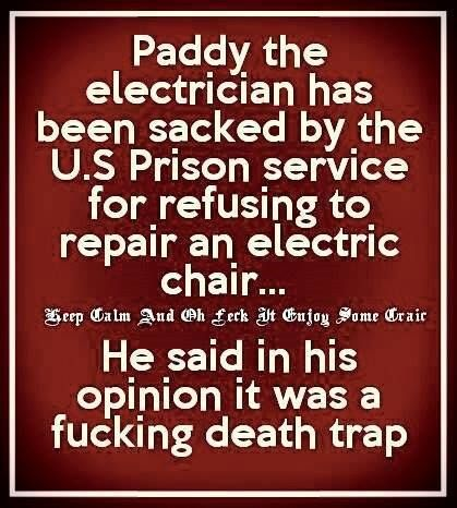 Paddy the electrician - funny paddy jokes