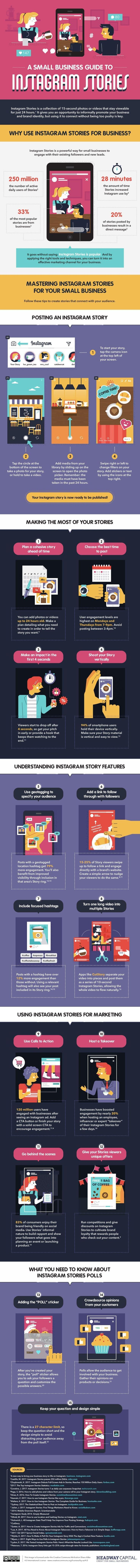 A Small Business Guide to Instagram Stories - #infographic
