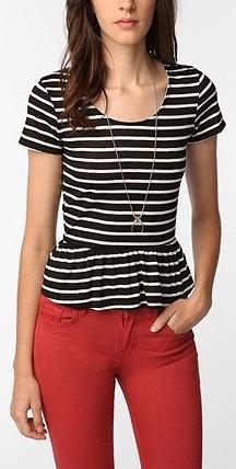 Cute #peplum #outfit (via @Mara Higgins www.mainelymara.com)
