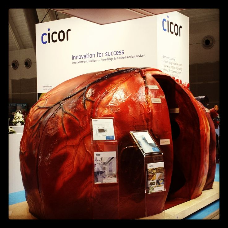 #cicor walk-in heart at #medteceurope #medteclive