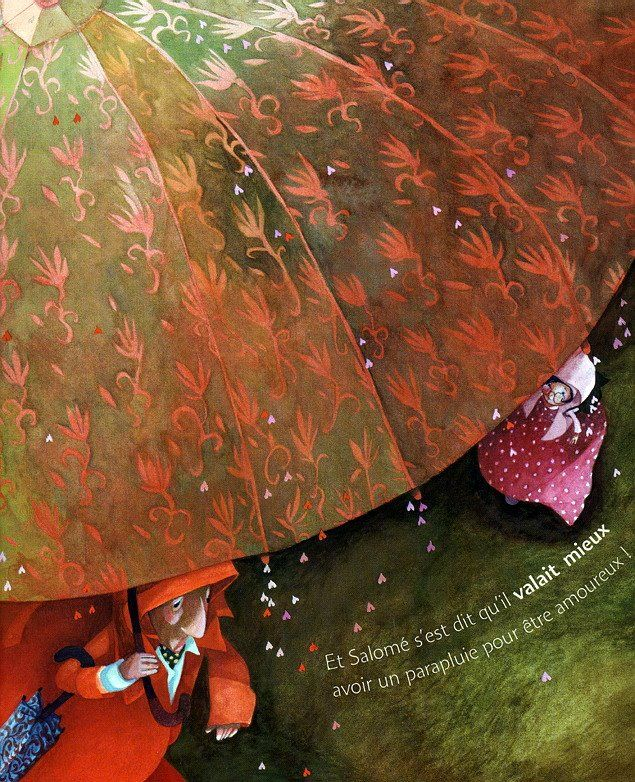Red Passion by Rebecca Dautremer (1) ~ Blog of an Art Admirer