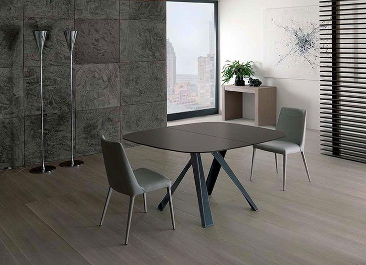 oltre 25 fantastiche idee su tavoli quadrati su pinterest | tavoli ... - Tavoli Moderni Design Allungabili