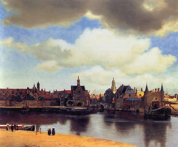 Vermeer, View of Delft (Mauritshuis, The Hague)