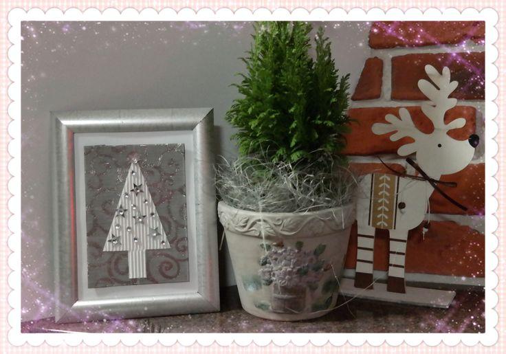 U mnie na wsi: Wyczaruj świąteczny obrazek - DIY