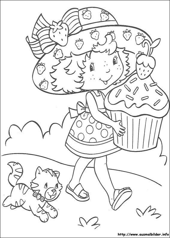 Emily Erdbeer malvorlagen