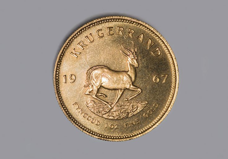 The 1967 KrugerRand for The South African Mint.