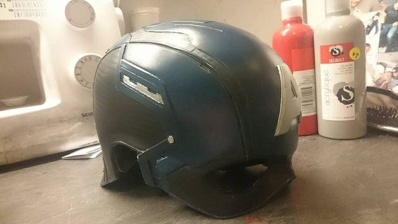 Captain america The winter Soldier Helmet prop by LifeSizeHeroes