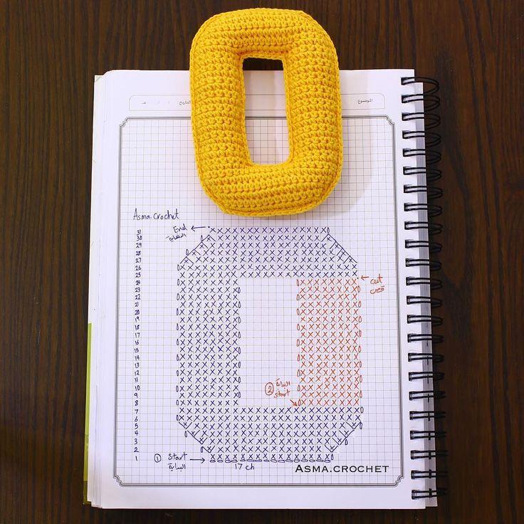 . . نصيحة حاول تعيش اللحظة لأن الحياة مافيها إعادة حياة ..  . #letters_crochet .