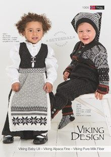 Viking of Norway babyull, norsk, svensk, english