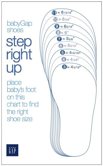 about Shoe Size Chart on Pinterest | Shoe Size Conversion, Baby Shoe ...