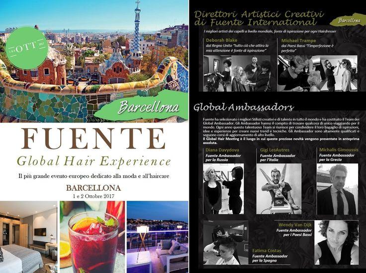 L'1 e il 2 Ottobre 2017, vola a Barcellona per la Global Hair Experience, il più grande evento europeo dedicato all'haircare. Vivi 2 giorni di pura creatività e fai crescere il business del tuo salone! Per informazioni o per partecipare, contatta il numero 0383 41291 o la mail commerciale@a-vita.it