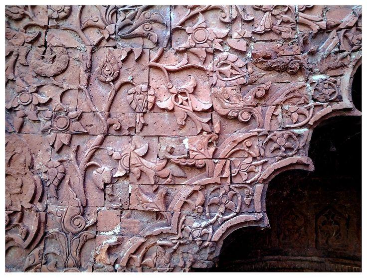 The beautiful Darasbari mosque at Gaur, rajshahi, Bangladesh  Sultanate era 1479 AD