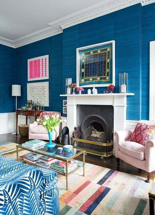 Don't be afraid to clash contemporary furniture designs with classic period styles. If you love it, it will work. #IWANTTHATSTYLE