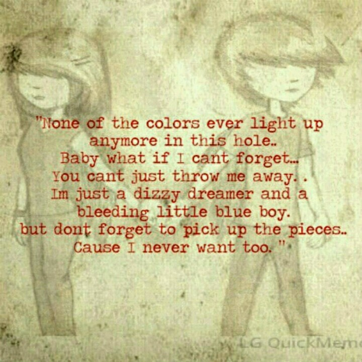 Lyric pick up the pieces lyrics : 55 best Lyrics images on Pinterest | Band quotes, Lyrics and Bands