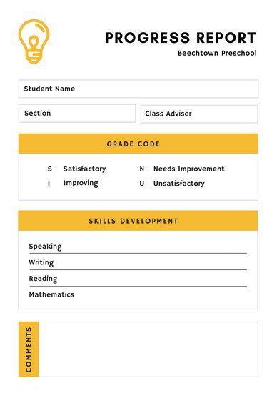 Cele mai bune 25+ de idei despre Report card template pe Pinterest - progress report card template