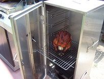 Tons of tips for smoking beer can chicken