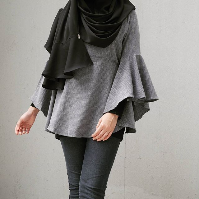 NEW Bell Sleeve Top 5.0 $36 Fits till L Only at #birue  Golden Landmark #01-14 Sembawang Shopping Center #02-08