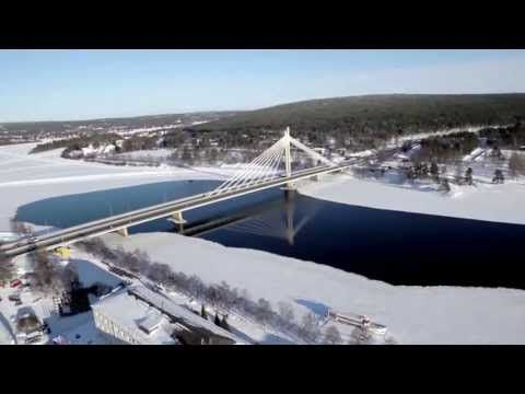 Winter of Rovaniemi in Finland