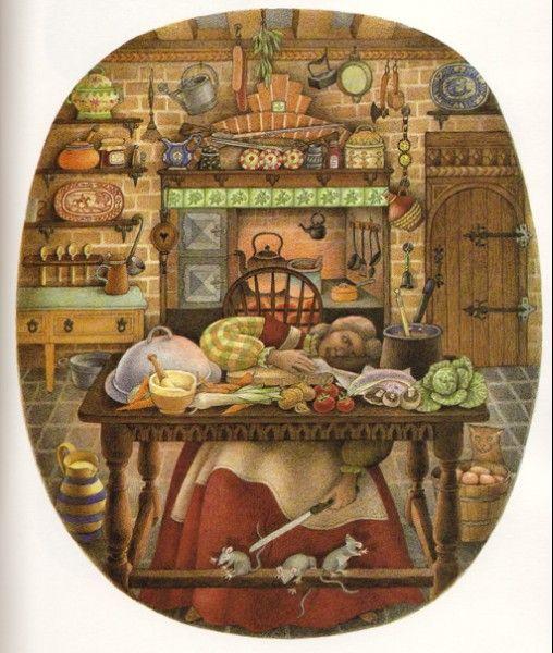 Nicola Bayley (ilustradora inglesa nacida en 1949) me gusta muchísimo, sus trabajos se publicaron hacen décadas por Lumen y no han sido reeditados en castellano. Hoy elijo estas ilustraciones que …