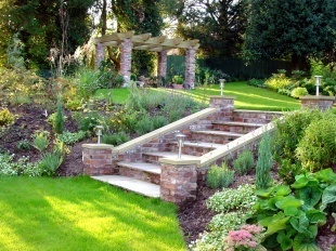 17 best images about garden stairs and steps on pinterest for Georgian landscape design
