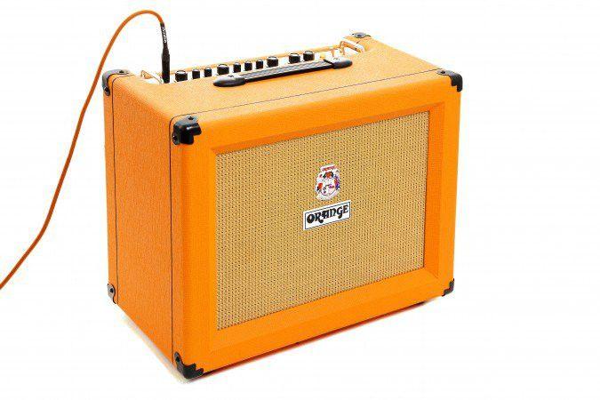 2015 Orange Amplifiers Crush Pro CR120C 120W 2x12 Guitar Combo Amp Orange