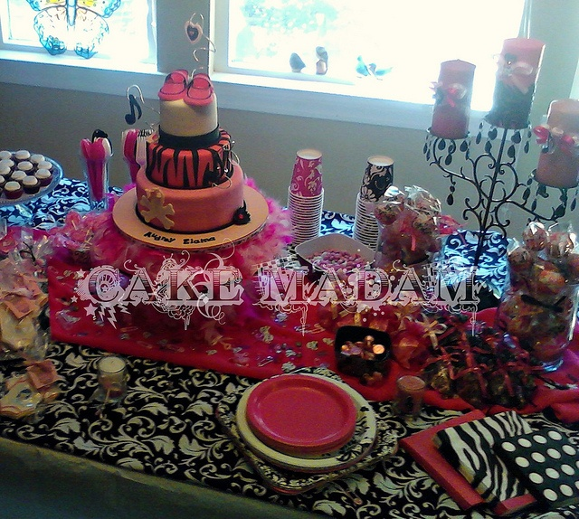 Punk Rock Baby Shower If  baby Byrd is a  girl