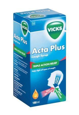 Vicks Acta Plus Cough Syrup R43.90