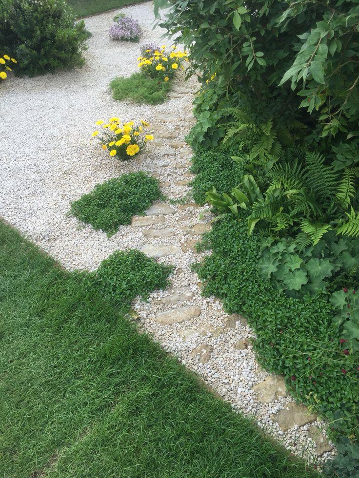 Gravel pavers low maintenance