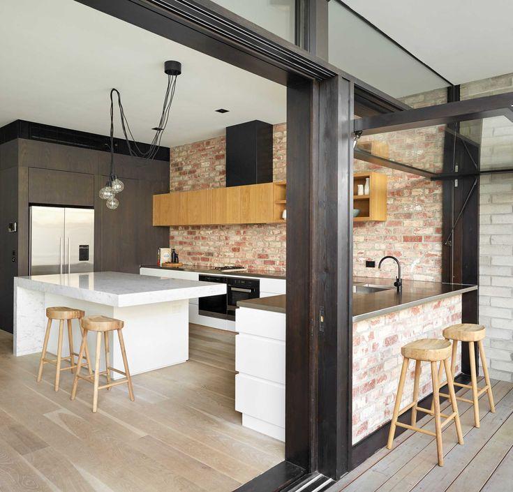Elwood Home - Indoor-Outdoor Kitchen by smarterBATHROOMS+