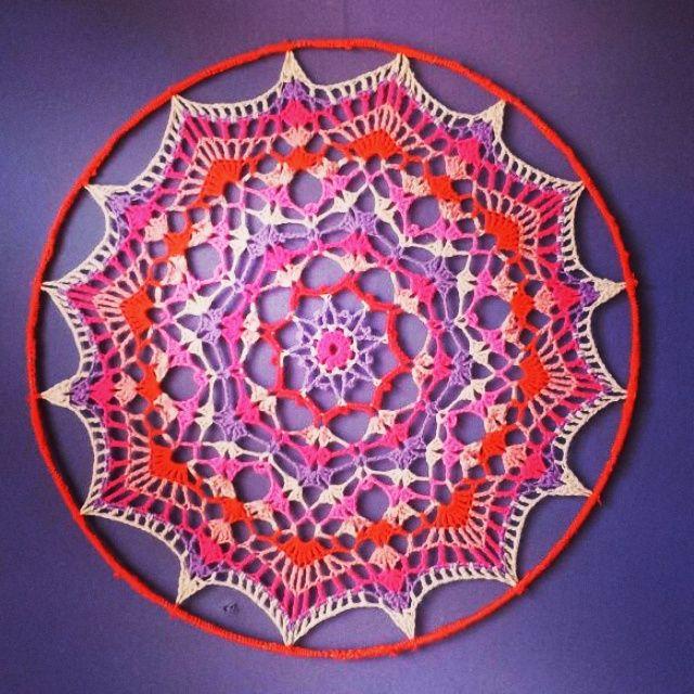 Top 114 best Haken: Dromenvanger images on Pinterest | Crochet doilies  XM84