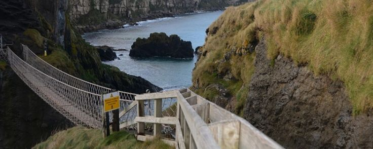 Carrick-a-rede touwbrug Noord-Ierland