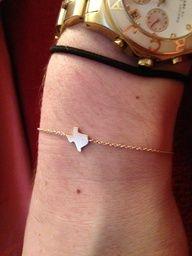 Delicate texas bracelet