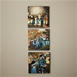 Wooden photo blocks from photobarn.co. Super cute & unique way to display your favorite memories.