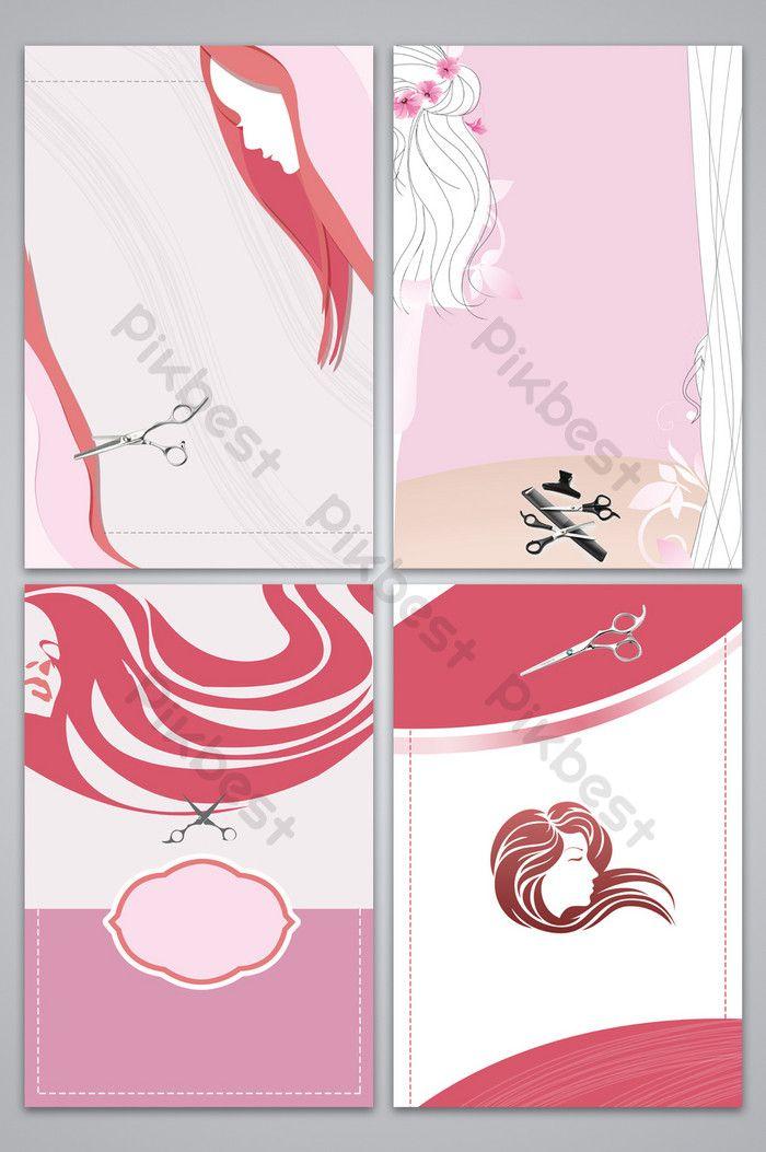 أزياء المهنية تصفيف الشعر ملصق ناقلات خلفية الصورة خلفيات Psd تحميل مجاني Pikbest Background Images Geometric Background Makeup Drawing