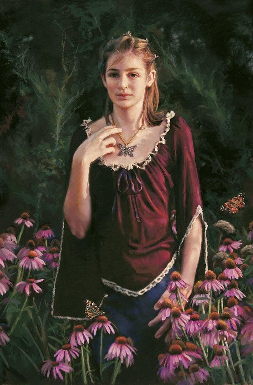 Butterfly Charmer by Ardith Starostka