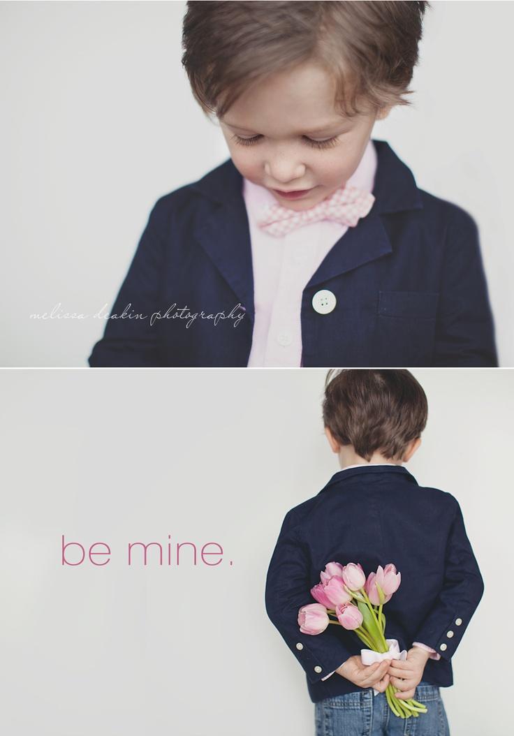 be mine by Melissa Deakin.  Valentine's Day card idea