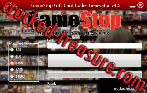 gamestop gift card code generator | checked