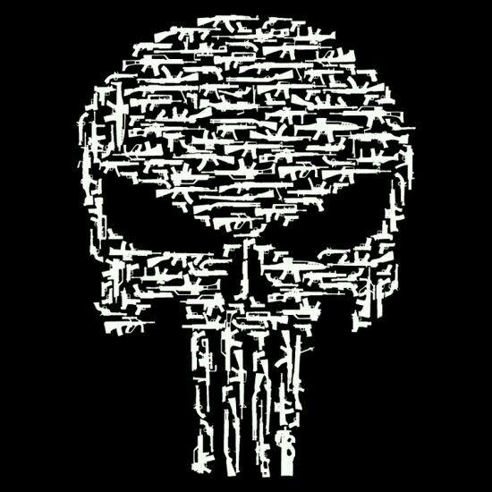 Punisher Silhouette Clip Art