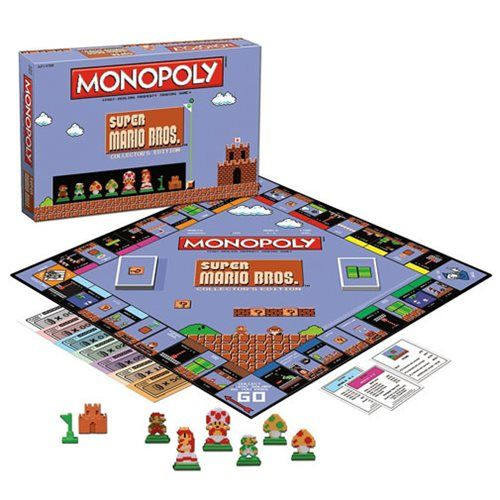 Super Mario Bros Classic Monopoly Game  https://www.facebook.com/Gamers-Interest-188181998317382/