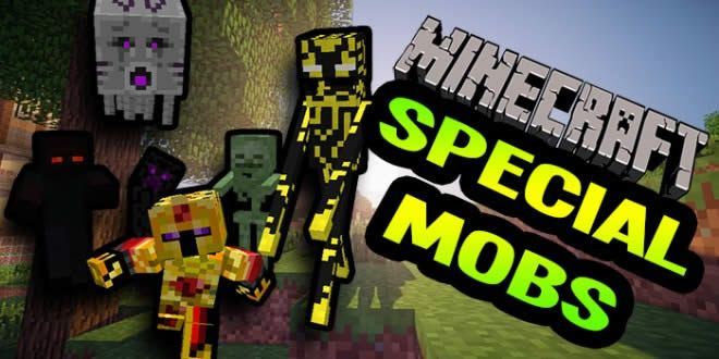 Mobs Especiales mod añade al juego Minecraft 1.4.7 nuevas variedades de edad turbas
