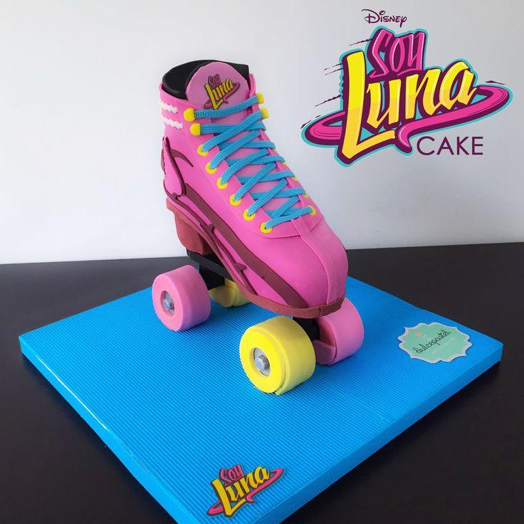 roller skate cake torta patin soy luna soyluna. Black Bedroom Furniture Sets. Home Design Ideas